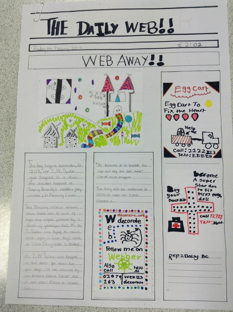 How to write a news report ks2 maths