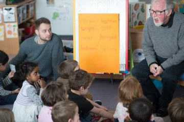 Chris Powling visit March 2015 (5 of 16)