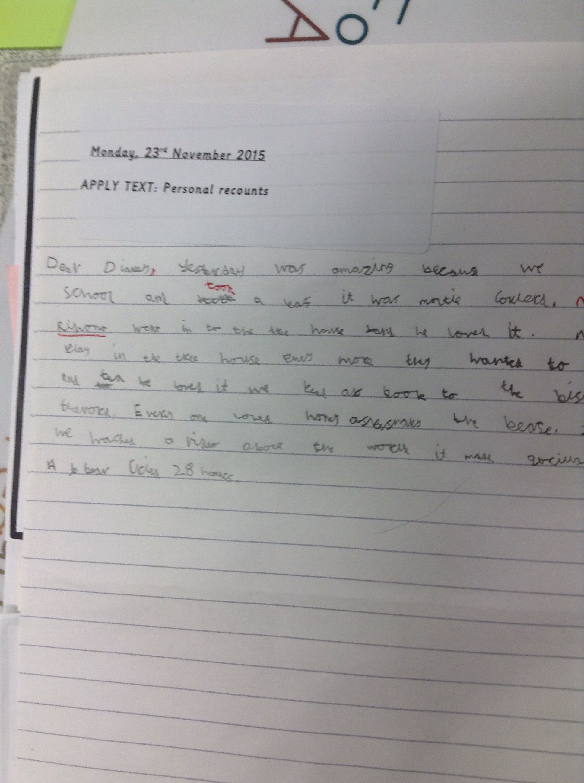 Self recount in year 3u – Ashmead Primary School