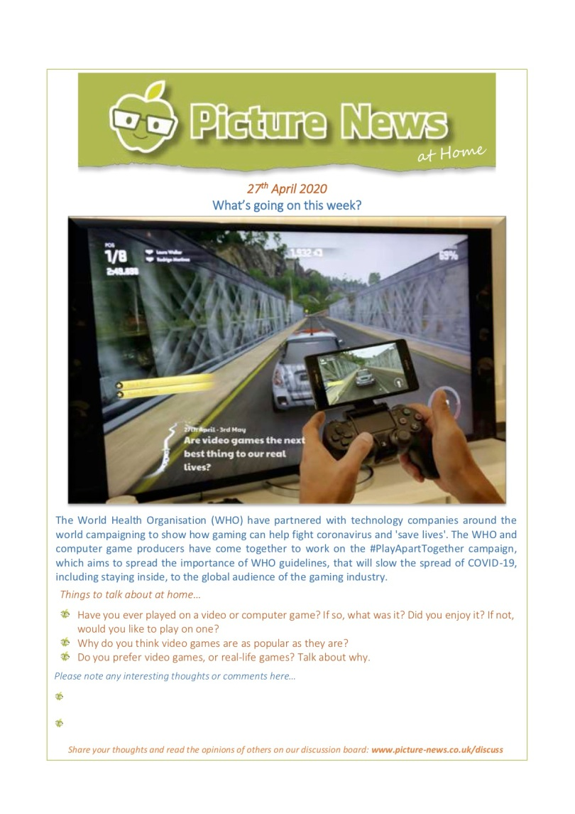 Picture News at Home - 27th April